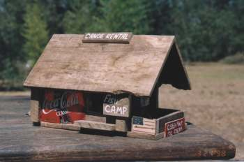 Rustic pallet wood bird houses sell well at hardware stores, garden centers, craft and feed stores.