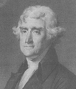 One of the Founding Fathers of the United States, Thomas Jefferson was one of the first Presidents to go beyond the constraints imposed by the Constitution.  But rather than increasing the power of the federal government, his intention was to get a European power off the North American continent and to expand the nation itself.