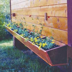 Planter boxes can be added to almost any structure