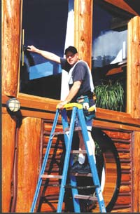 In your own post-construction cleaning business, cleaning only one sizable house a week can gross you $2000 per month.