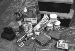 FEMA recommends you have a portable disaster supply kit that contains all of the food, water, and emergency supplies that your family would need for three days.