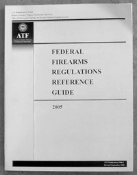 This guide from BATFE is invaluable in terms of keeping out of trouble with the Feds. Always refer to the latest edition; regulations change frequently.