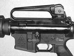 Del-Ton Incorporated (DTI) makes this rifle, the cheapest new AR15 author would be comfortable owning. Prices start in mid-$700 retail range.