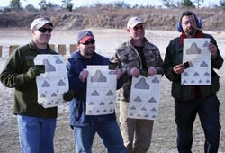 Four of two dozen participants finished with the Rifleman's Patch, but all who attended were enthusiastic about the experience.