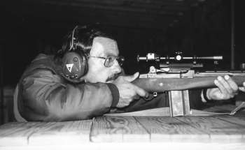 Those who are inimical to the civil rights of gun owners would ban private citizens' ownership of fine rifles like this match-grade Springfield Armory M1A, shown with Trijicon Accupoint scope.