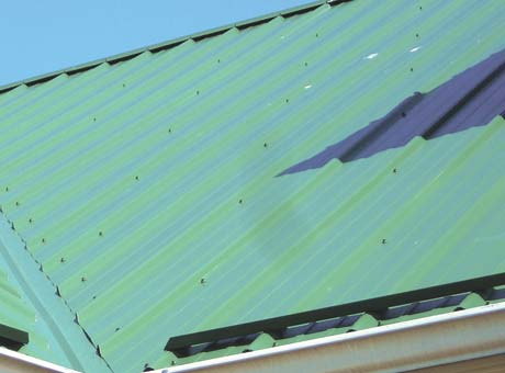 Take extra care to make sure roof valleys look straight. Errors are easy to spot.