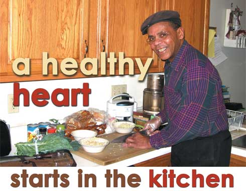 A healthy heart starts in the kitchen