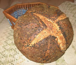 Wheat artisan bread
