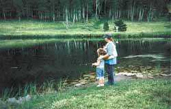 Teach your children to fish for many hours of fun and lots of good eating.