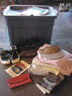 One man's junk might be another man's treasure. Here are some items that showed up in our community treasure chest.