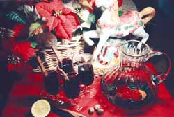 Hazel's mulled Christmas wine