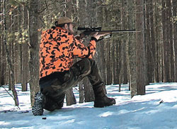 Pot hunting means always being ready to quickly bring your sights to bear on a small target whose presence might be fleeting, then get off an accurate shot, but always with strict adherence to safe gunhandling practices.