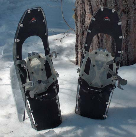 The Lightning from Mountain Safety Research marked a milestone in snowshoe innovation by turning the entire frame into a giant crampon.
