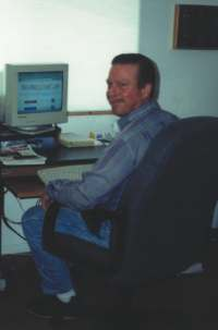 Cliff Titus at work