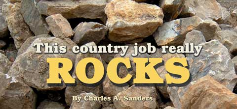 This country job really rocks. By Charles Sanders