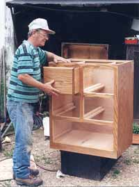 A neighbor makes quality furniture from scratch. He makes good money doing it.
