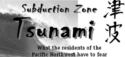 Subduction zone tsunami By John Silveira