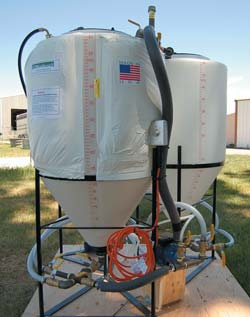 Non-heating bio-diesel making kit. (Photo courtesy of Summit Enterprises, LLC and EZ Bio-diesel)