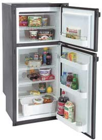 Dometic 'Tundra' Model TJ85 Refrigerator/Freezer (Photo courtesy of Dometic Corp.)