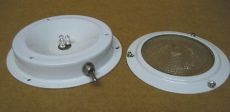 Surface-mount LED fixture for boats and RV applications