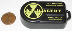 Miniature nuclear radiation Geiger counter