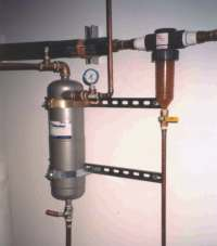 Sand filter and tank pre-filter