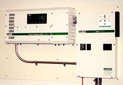 Trace 4 kW sine wave inverter and optional DC power center