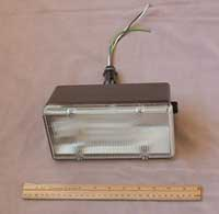 Figure 6. 12-volt D.C. compact fluorescent wall-mounted fixture by Thin-Lite Corp.