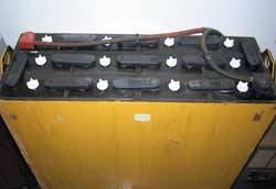 24-volt industrial tray solar battery