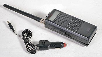 Most portable radio devices are available with optional car chargers.