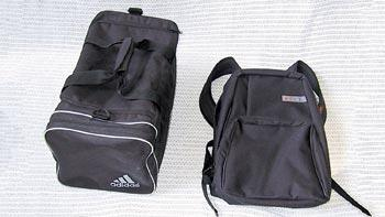 """Hide-in-plain-sight"" book bags and gym bags make excellent bug-out bags."
