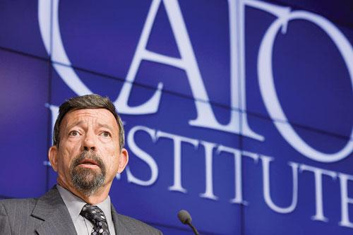 "Author explains ""Stand Your Ground"" principles at CATO Institute, 2012."