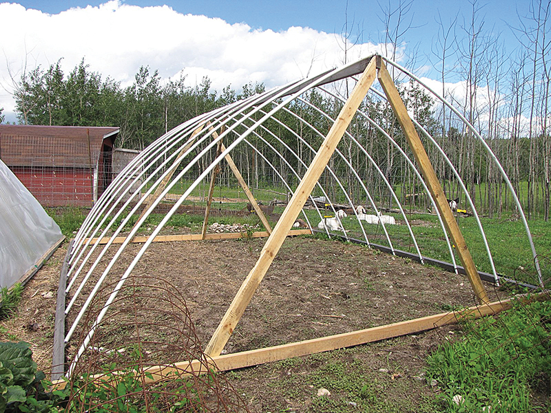 Build your own hoop house | Backwoods Home Magazine