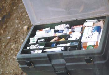 Our medical kit.