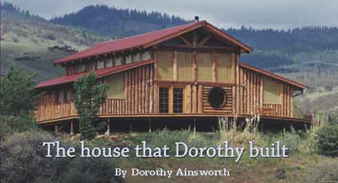 The house that Dorothy built by Dorothy Ainsworth