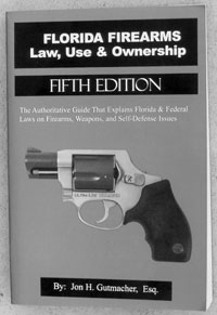 Check local gun shops for up-to-date compendia of gun laws in your state. Jon Gutmacher's 'Florida Firearms Law, Use & Ownership' is a classic good example.