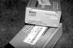 Outrage over increasing ammo prices fails to take into account how much those prices fell over the last 20 years. Author bought this ammo in August 2007, for roughly half of what the same rounds listed for in 1986. Boxes hold 50 rounds each.