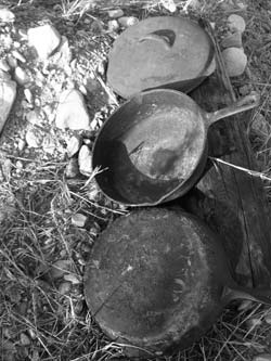 Even old, ugly, rusted cast iron pans can be rehabilitated for cooking.