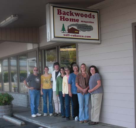 The BHM building and staff in Gold Beach, Oregon