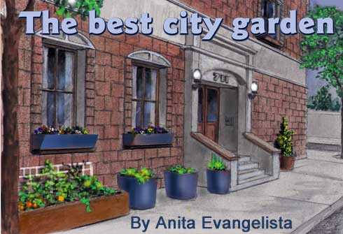 The best city garden By Anita Evangelista
