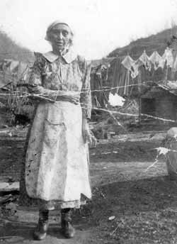 Unidentified Appalachian woman, circa 1935