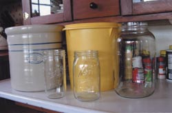 Any of these containers can be used for brining pickles.
