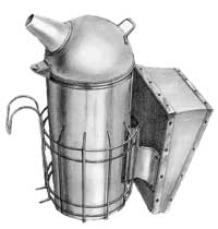 The smoker is an essential and basic part of beekeeping equipment.