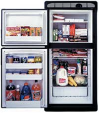 Norcold Model DE-61 Refrigerator/Freezer (Photo courtesy of Norcold Corp.)