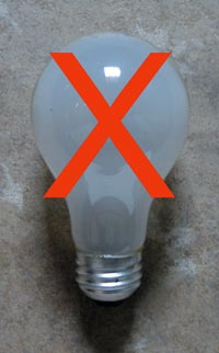 Will the state of California make it illegal to buy incandescent bulbs?