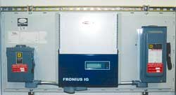 Fronius grid-tie inverter and optional AC & DC disconnect