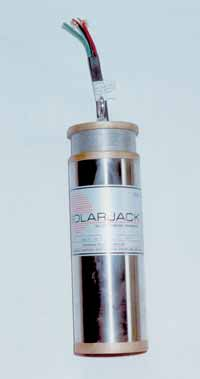 A 24-volt DC SolarJack pump for a 4-inch well casing