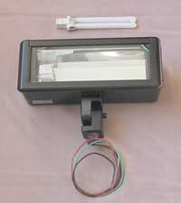 Figure 5. 12-volt DC compact fluorescent ground-mounted fixture
