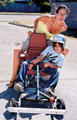 Build A Hybrid Go-Kart For Kids For $150 - Backwoods Home Magazine