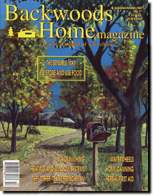 Backwoods Home Magazine #85 - Jan/Feb 2004